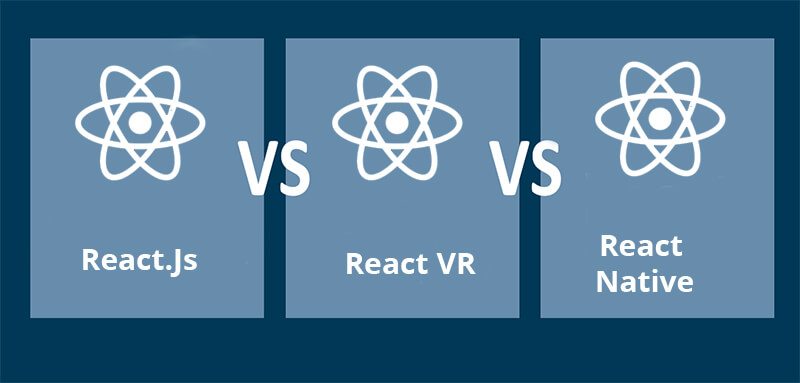 Differences Between React.js, React VR And React Native