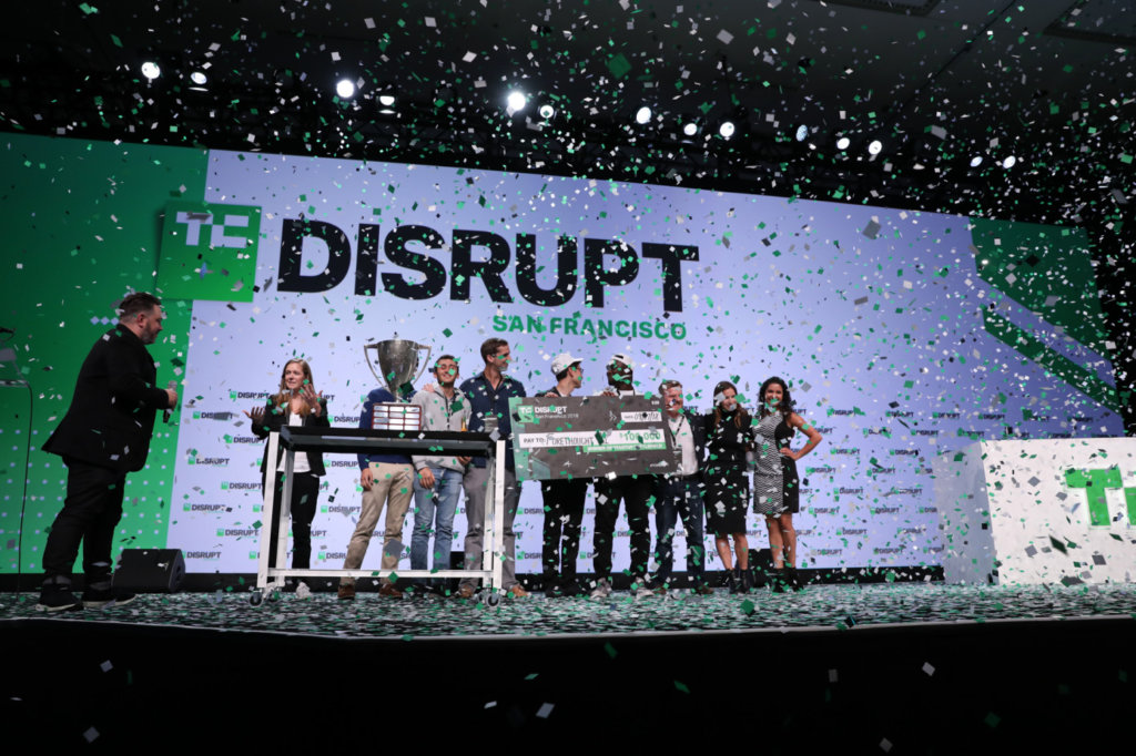 Winner of Disrupt SF 2018