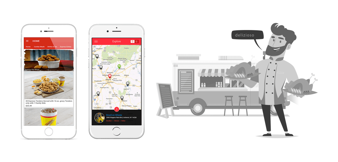 food truck app development