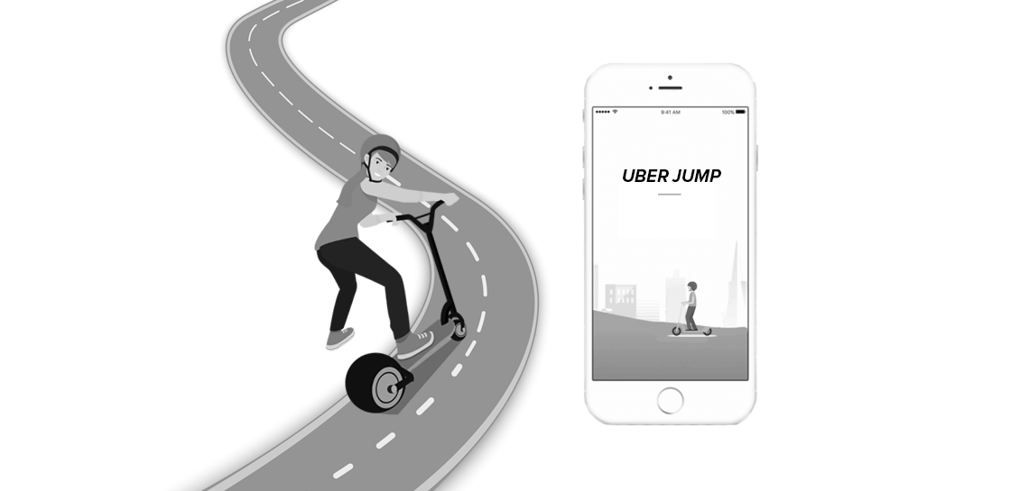 Build app like Uber jump scooter