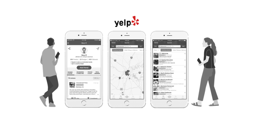 Yelp Like App Development