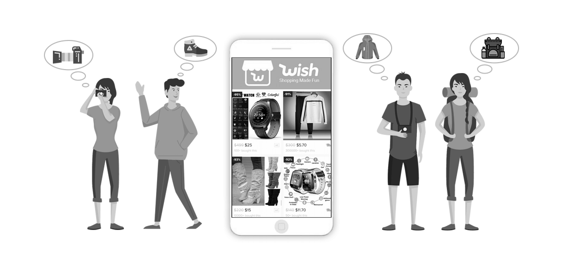 Make a shopping app like Wish-how much will it cost