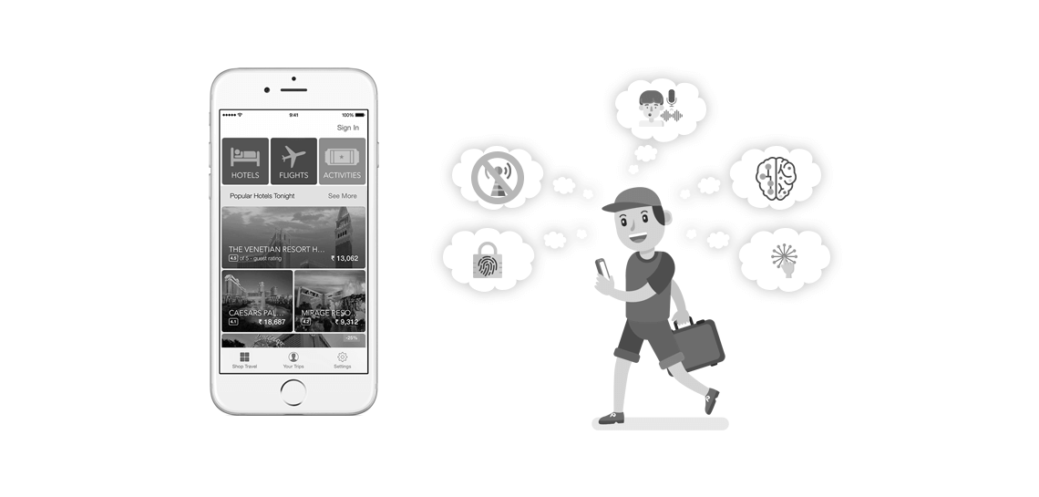 New technology trends in mobile apps for travel business