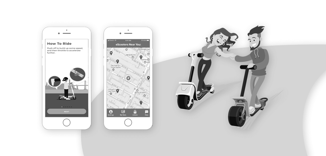 Build a scooter sharing app for the rapid growth of your business