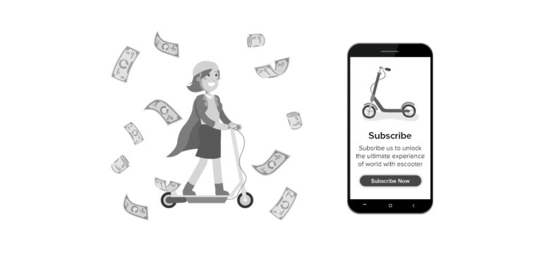 E-scooter-app-with-a-subscription-model-a-new-way-to-climb-the-next-step-in-electric-scooter-rental-business