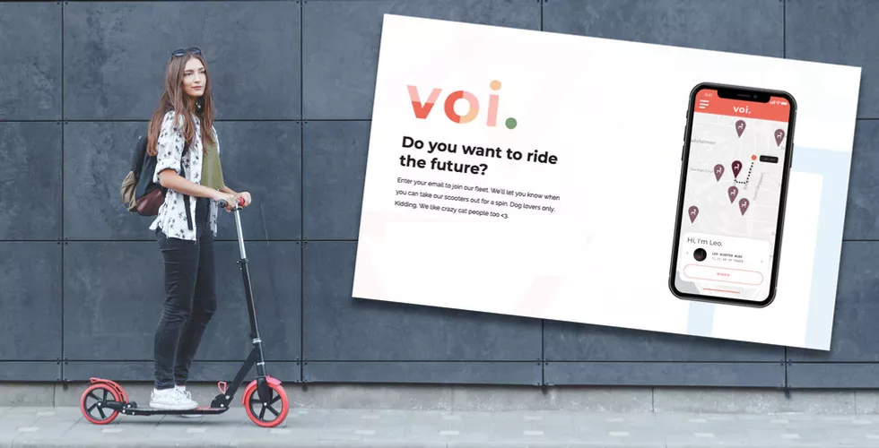 VOI- the e-scooter rental raises an extra $30 million and is expanding across the Nordic countries and Europe