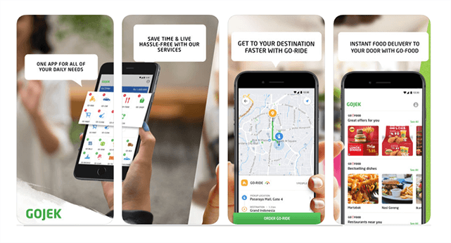 Features and services of GoJek app that you can also include in your GoJek clone app