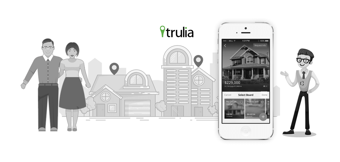How Apps Like Trulia will Redefine the Luxury Real Estate Market With These Amazing Features?