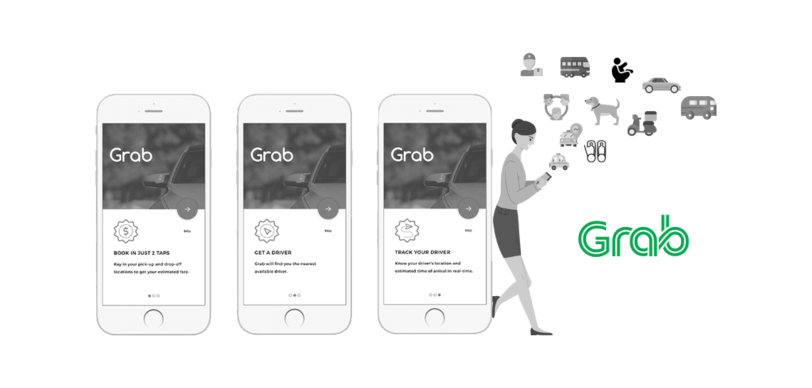 Provide your customers with multiple services through a single app with a super app strategy like Grab