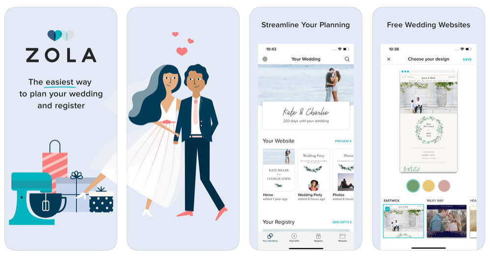 Wedding Planning App.Build App Like Zola Top Features To Consider While Developing