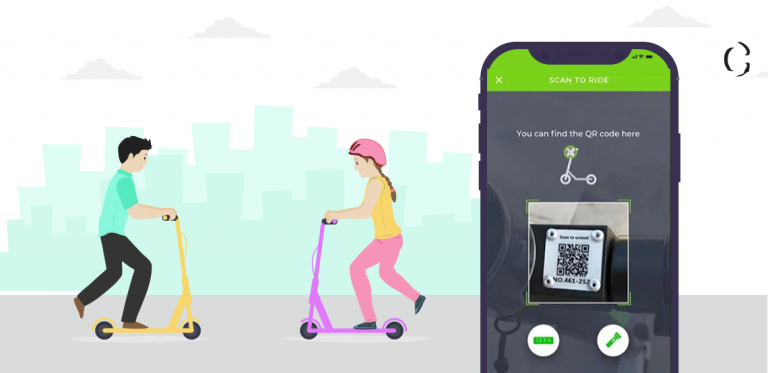 dockless scooter iot integration