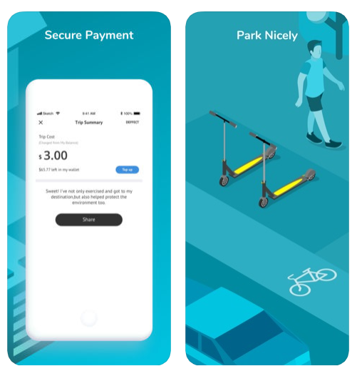 Dockless scooters powered by IoT and Bluetooth integrated app is the future of scooter rental services