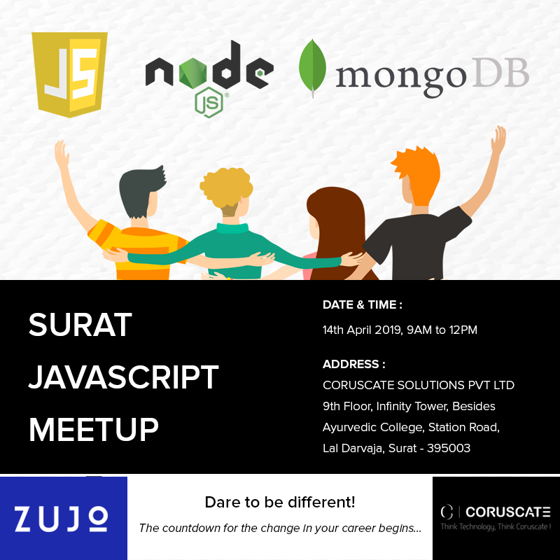 3 Reasons you must attend the Surat JS Meetup at Coruscate