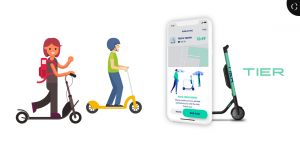 build e-scooter app like tier