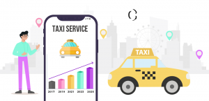 The worldwide market scenario of taxi booking apps by 2025 and the factors that drive their growth