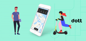 dott e-scooter rental app