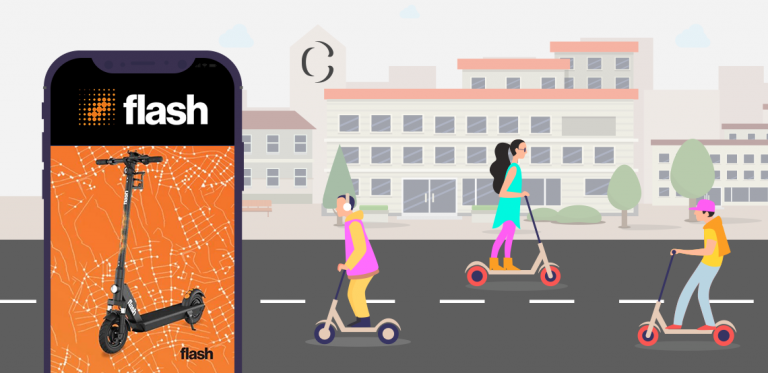 Flash re-brands as Circ: know how to develop an e-scooter app like Flash (Circ) which has completed 1 million rides in just 135 days.