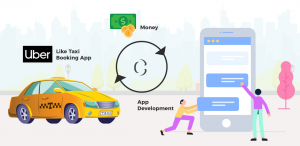 Least possible cost to develop a taxi app