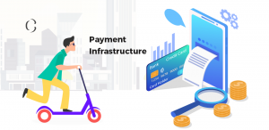 Moneymaking payment infrastructure for e-scooter business