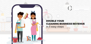 On Demand Cleaning app development: Double your cleaning business revenue in 5 easy steps