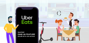 Get going with the new dine-in feature for your food delivery app to earn more by avoiding driver fee and service charges