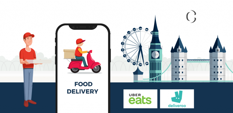 Develop On-Demand Food Delivery app Lessons to learn from Eat & Takeaway Merge to be a market leader