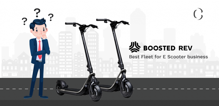 Why Boosted Rev could be a better option for your e-scooter business fleet and a great companion to your e-scooter app