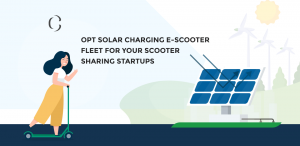 Add Solar charging to your E scooters to reduce the charging cost and time for your scooter sharing business