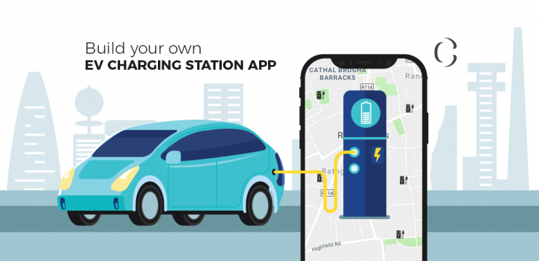 EV charging station app Development Be an early bird in the electric-vehicle charging network by building power app for your foundation