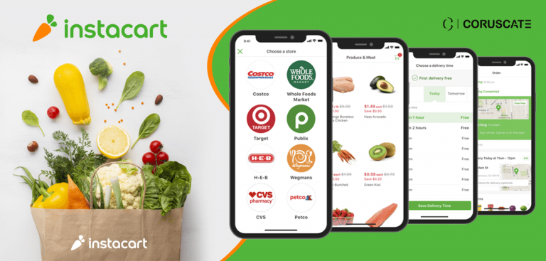 Build an Instacart clone app to make it large in the grocery delivery business