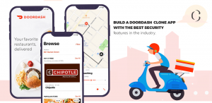 Doordash clone with best security features
