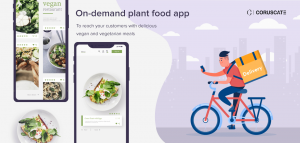 On-demand plant food app
