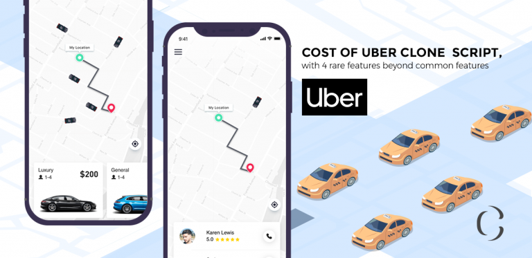 Uber clone script, having 4 rare features beyond common features