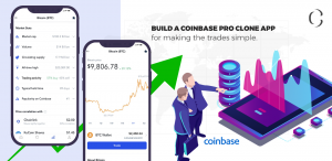 Coinbase Pro Clone app for crypto traders to make trades on the go!