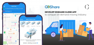 Develop GoShare Clone app to conquer on-demand moving industry
