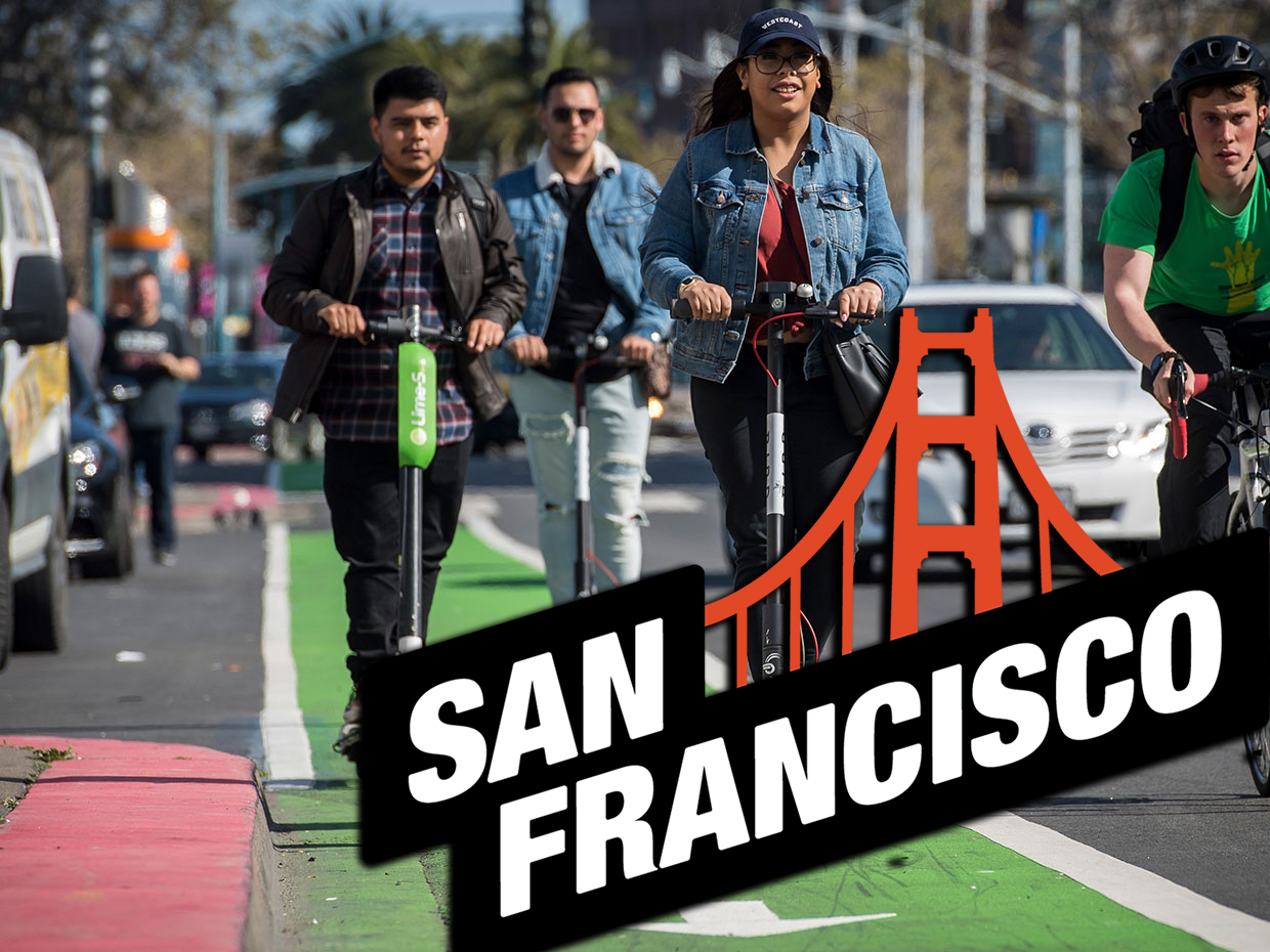 How to get a government permit for e-scooter rental business like Jump, Lime, Scoot and Spin get one in San Francisco?