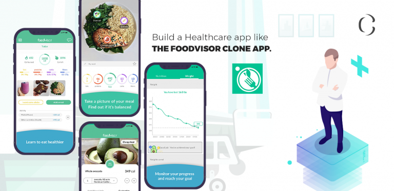 Revolutionize Healthcare apps with AI technology and enable users to keep a track of diet with Foodvisor Clone app