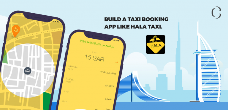 Welcome your rider's convenient booking method by building a taxi booking app like Careem and Hala taxi