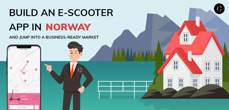 Build an e-scooter app in Norway