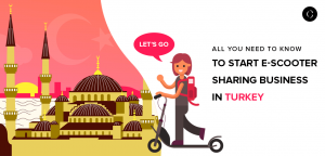 build the e-scooter app in Istanbul, Turkey