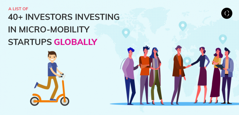 A list of 40+ investors investing in micro-mobility startups