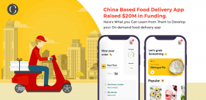 Food delivery app raised $20m in funding