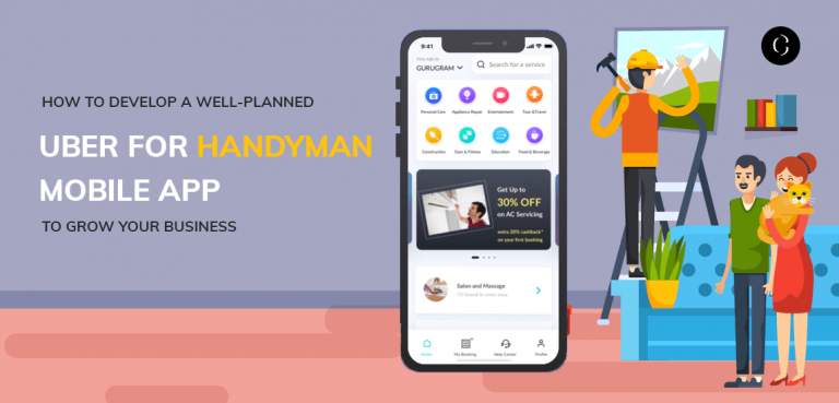 Uber for Handyman Mobile App