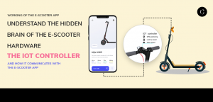 Working of the e-scooter app