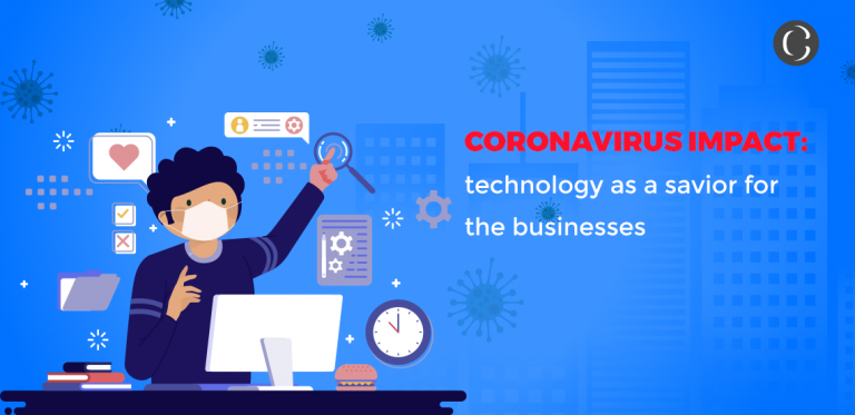 Coronavirus impact technology as a savior for the businesses
