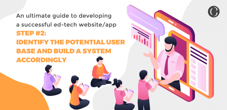 An ultimate guide to developing a successful ed-tech websiteapp step #2 Identify the potential user base and build a system accordingly