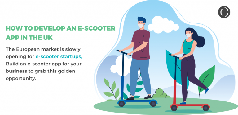 European e-scooters startups are landing up with exciting offers as lockdown norms in the region relaxed: How to develop an e-scooter app with powerful features to hit the European market
