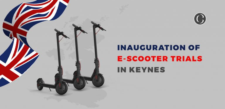 E-Scooter Trials Blasting Off In Milton Keynes