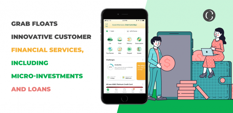 Grab floats innovative customer financial services, including micro-investments and loans